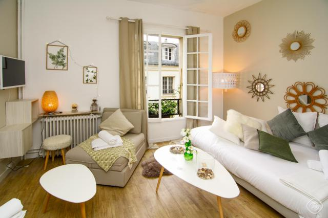 Cozy Chic studio Paris